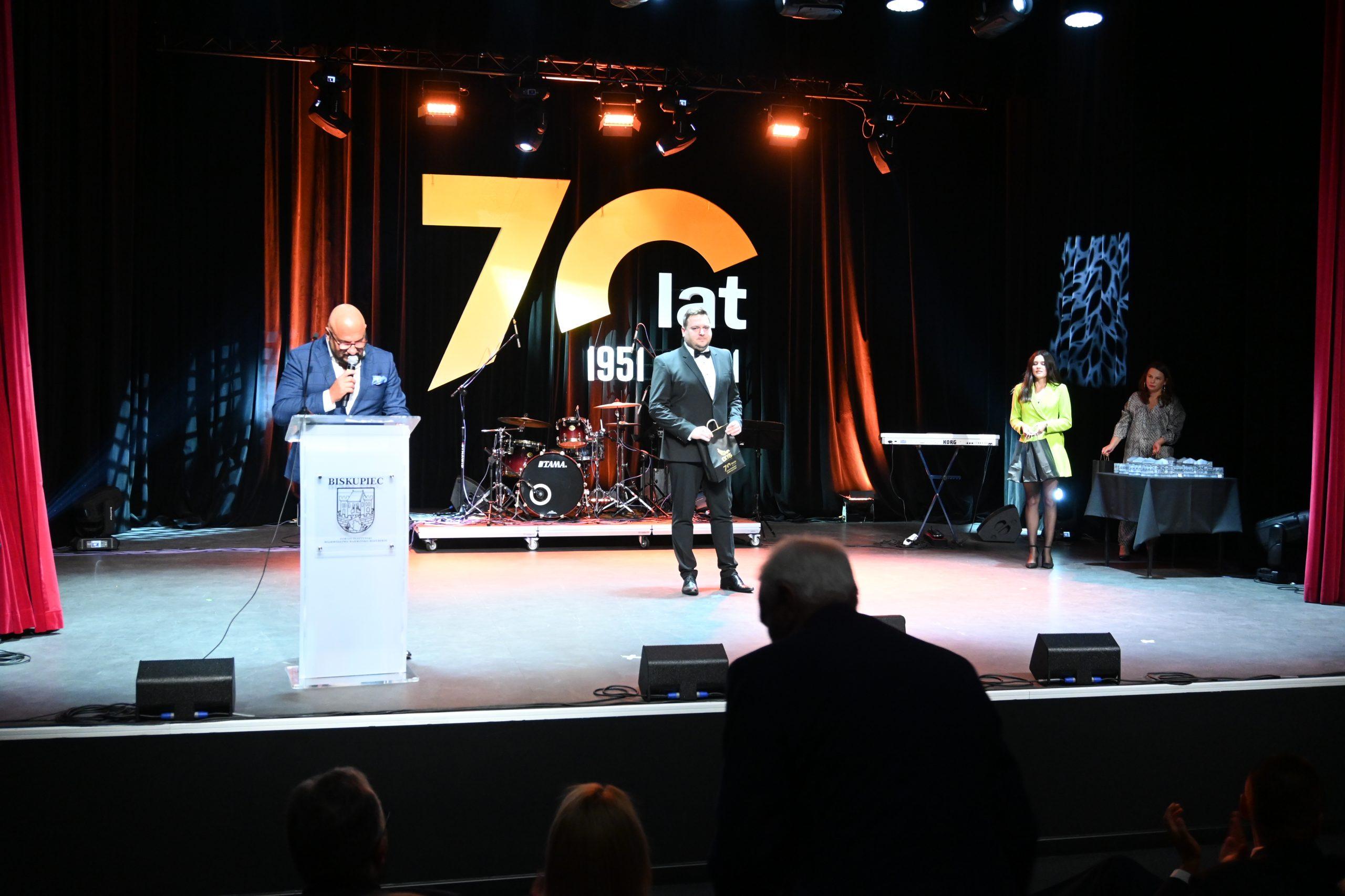 Gala 70-lecia BDK