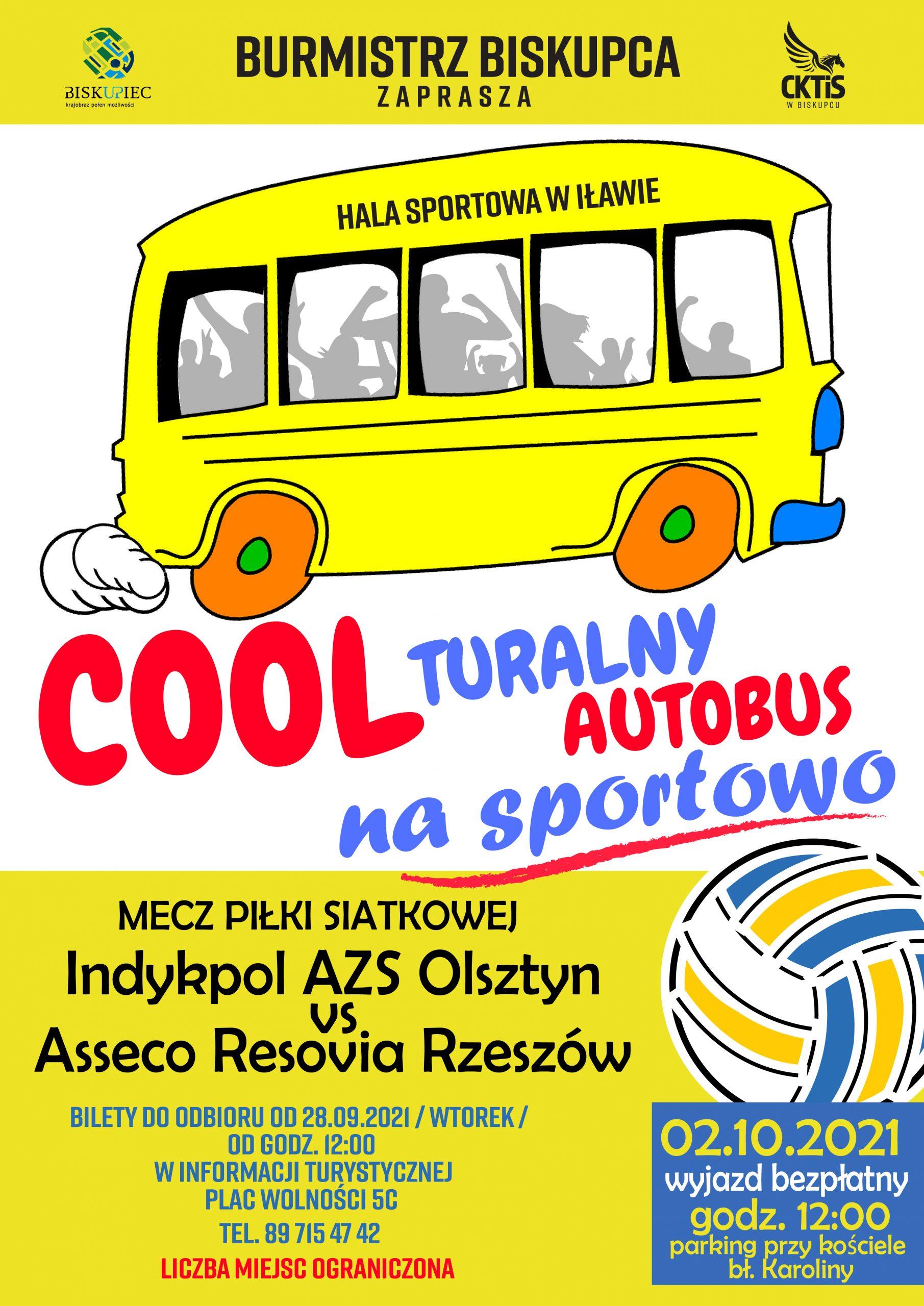 plakat coolturalny autobus