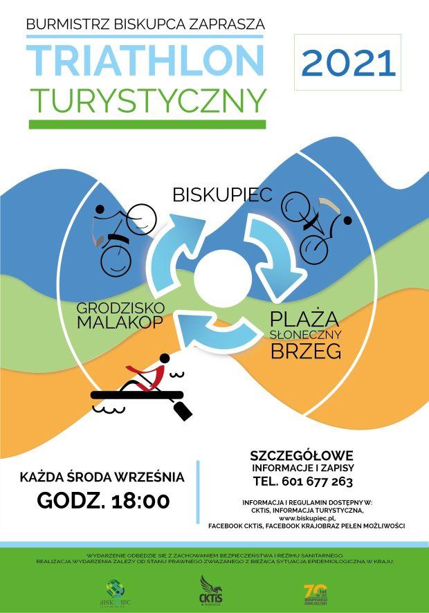 plakat Triathlon Turystyczny