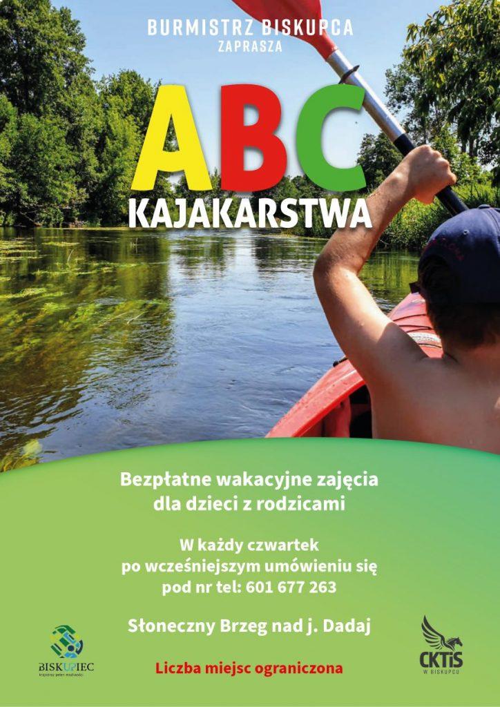 plakat ABC Kajakarstwa