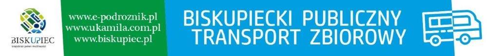 Grafika Biskupieckiego Publicznego Transportu Zbiorowego