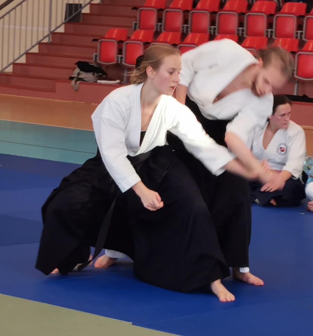 zdjęcie zawodników podczas walki